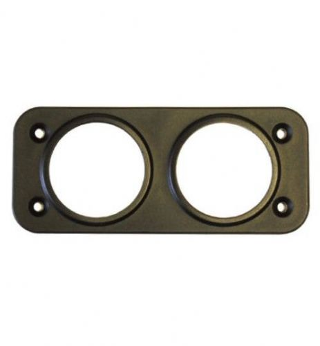2 Hole Front Panel Mount for 28mm Sockets-0-601-57